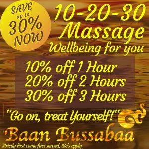 Thai Massage Warrington Special Offer