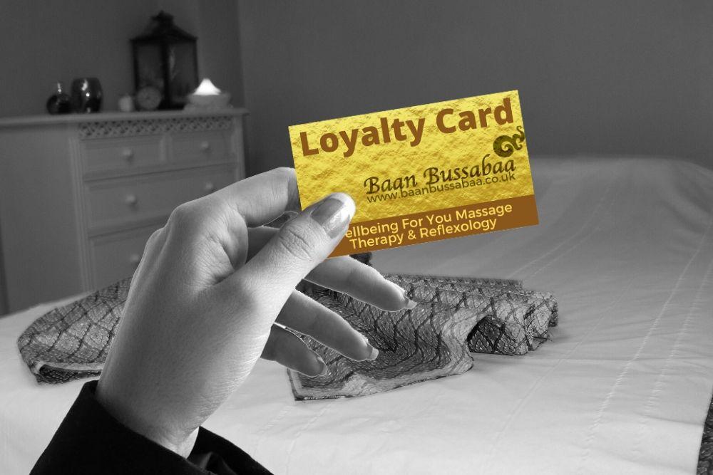 Loyalty Card Scheme Thai Massage