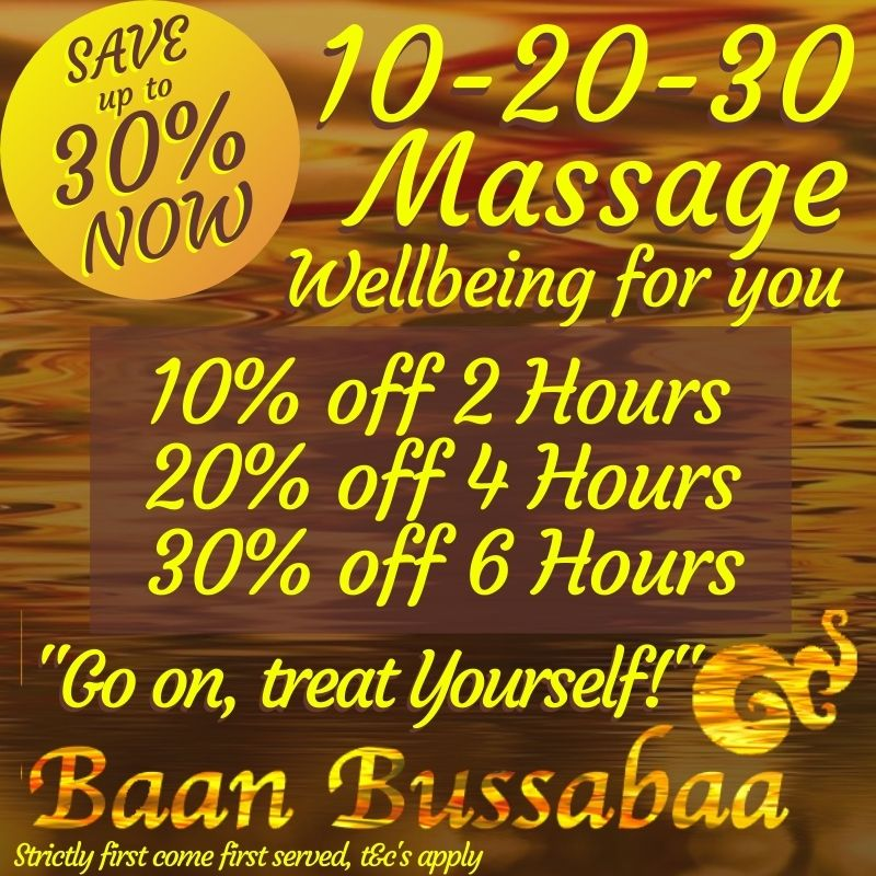 Thai Massage Offer in Warrington