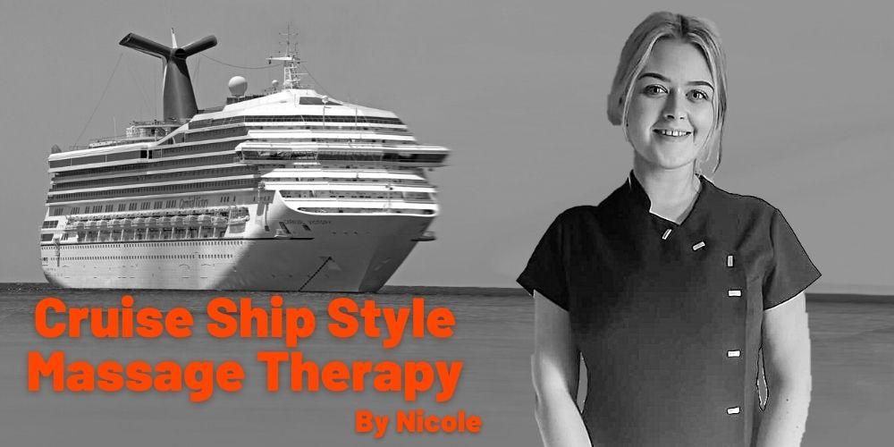 Cruise ship style massage in Warrington